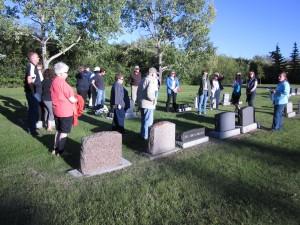 SPRA Cemetery Tour