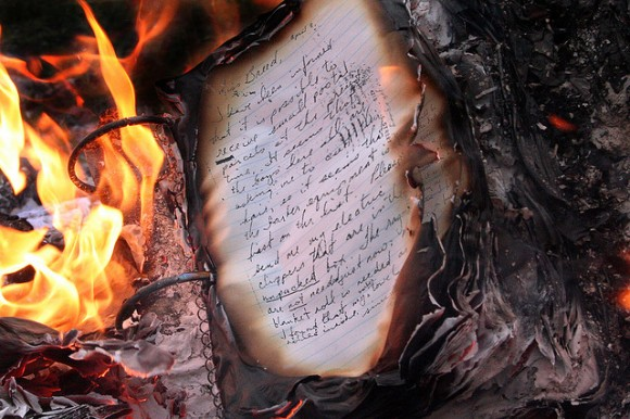 Burnt book